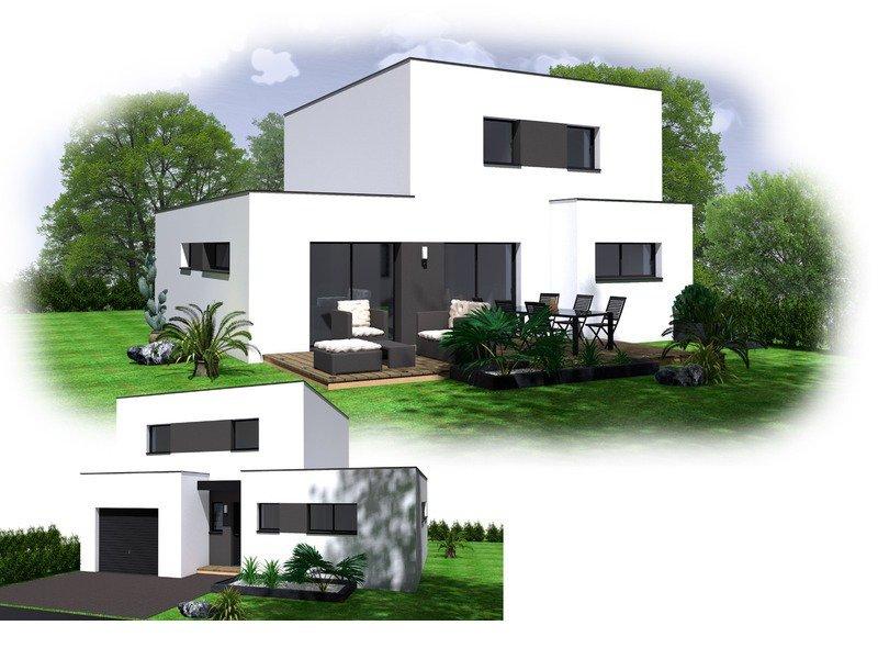 Maison+Terrain de 6 pièces avec 4 chambres à Locmaria Plouzané 29280 – 245000 € - GLB-18-07-06-30