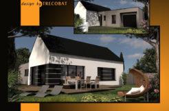Maison+Terrain de 5 pièces avec 4 chambres à Aucaleuc 22100 – 197300 €