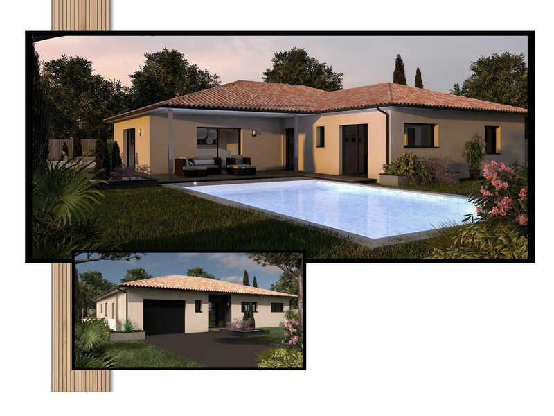Maison de 165m2 avec 6 pièces dont 3 chambres - M-MR-170804-5034