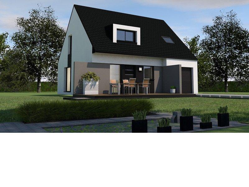 Maison+Terrain de 5 pièces avec 4 chambres à Ergué Gabéric 29500 – 184900 € - CGO-18-08-03-50