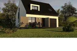 Maison+Terrain de 4 pièces avec 3 chambres à Rosporden 29140 – 172576 € - CGO-19-02-11-82