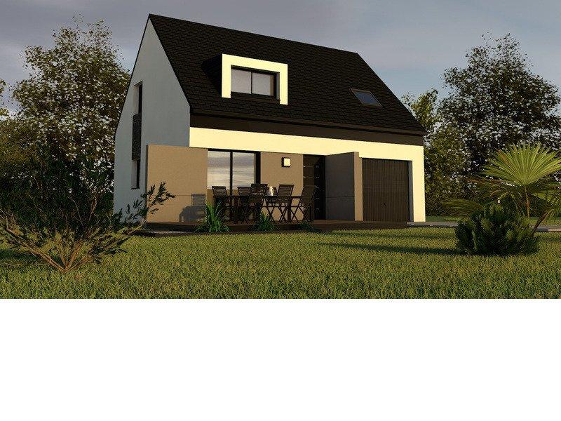 Maison+Terrain de 4 pièces avec 3 chambres à Clohars Fouesnant 29950 – 172683 € - CGO-19-04-12-82