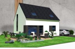Maison+Terrain de 6 pièces avec 4 chambres à Pont l'Abbé 29120 – 163805 €