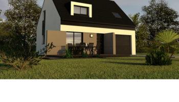 Maison+Terrain de 5 pièces avec 3 chambres à Pont l'Abbé 29120 – 162479 €