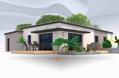Maison+Terrain de 5 pièces avec 3 chambres à Fouesnant 29170 – 232600 € - EDE-18-07-16-26