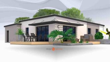 Maison+Terrain de 5 pièces avec 3 chambres à Gouesnach 29950 – 202876 € - EDE-19-11-26-38