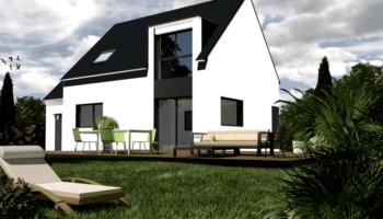 Maison+Terrain de 5 pièces avec 4 chambres à Clohars Fouesnant 29950 – 197676 € - EDE-19-04-23-46