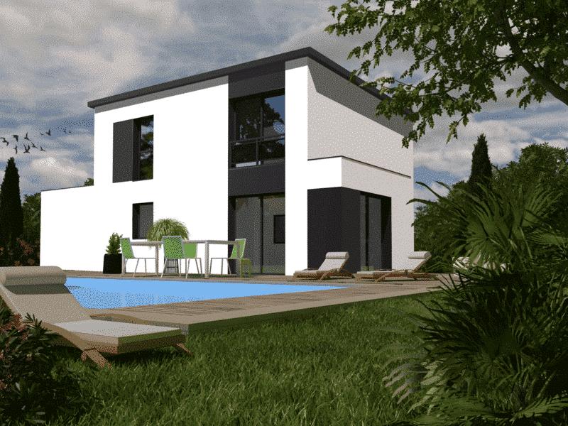 Maison+Terrain de 5 pièces avec 4 chambres à Pleuven 29170 – 264934 € - EDE-19-03-25-26