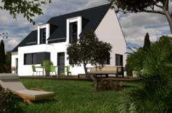 Maison+Terrain de 6 pièces avec 4 chambres à Baden 56870 – 339000 € - VB-18-11-29-2