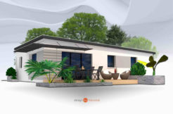 Maison+Terrain de 3 pièces avec 2 chambres à Clohars Fouesnant 29950 – 184000 €