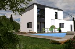 Maison+Terrain de 5 pièces avec 4 chambres à Ergué Gabéric 29500 – 219100 € - EDE-18-12-09-5