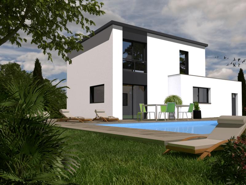 Maison+Terrain de 5 pièces avec 4 chambres à Pleuven 29170 – 218500 €
