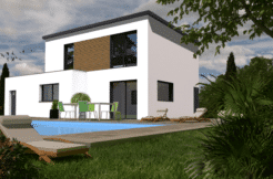 Maison+Terrain de 5 pièces avec 4 chambres à Ergué Gabéric 29500 – 213150 € - EDE-18-11-19-17