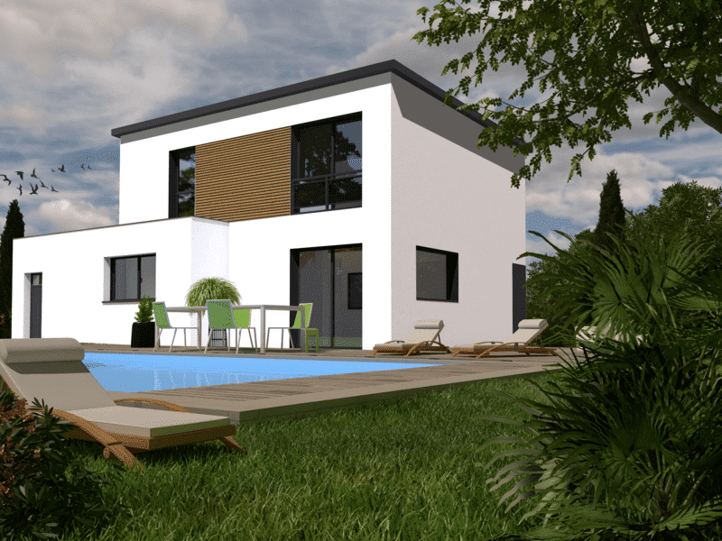 Maison+Terrain de 5 pièces avec 4 chambres à Fouesnant 29170 – 229750 € - EDE-19-04-05-21