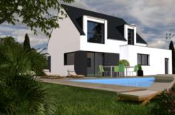 Maison+Terrain de 5 pièces avec 4 chambres à Fouesnant 29170 – 252757 € - EDE-19-04-21-71