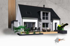 Maison+Terrain de 6 pièces avec 4 chambres à Lanvallay 22100 – 201343 € - PJ-19-12-29-7