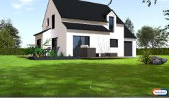Maison+Terrain de 5 pièces avec 4 chambres à Aucaleuc 22100 – 203000 €