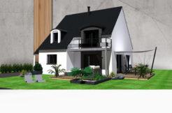 Maison+Terrain de 5 pièces avec 4 chambres à Minihic sur Rance 35870 – 352000 €