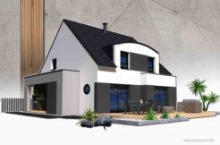 Maison+Terrain de 5 pièces avec 4 chambres à Minihic sur Rance 35870 – 293200 €