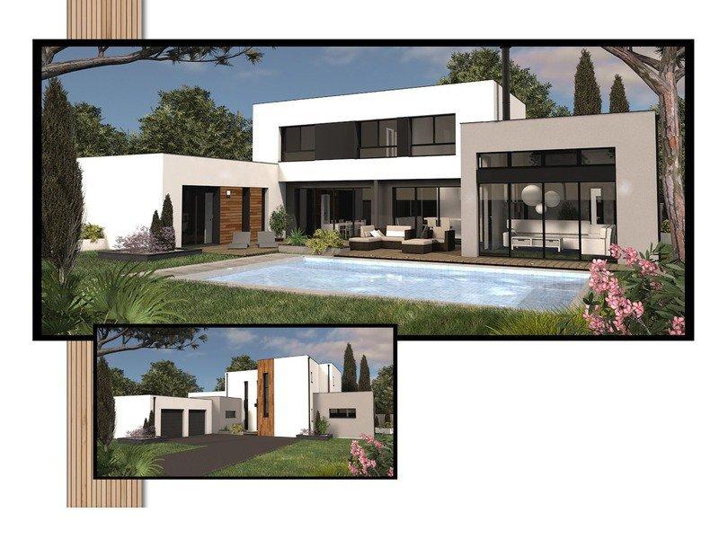 A vendre maison terrain 8 pi ces 244 m sur terrain de for Terrain blanquefort