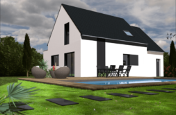Maison+Terrain de 7 pièces avec 4 chambres à Saint Caradec 22600 – 155988 € - CHO-18-11-14-37