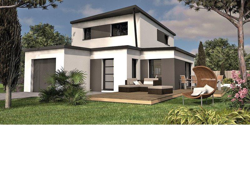 Maison+Terrain de 6 pièces avec 4 chambres à Saint André des Eaux 44117 – 323430 € - EGI-18-06-18-1