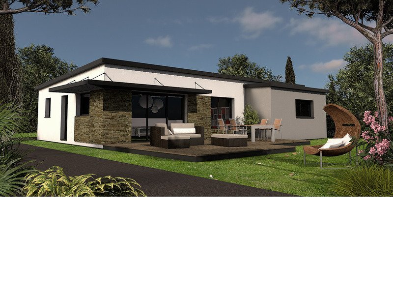 Maison+Terrain de 4 pièces avec 3 chambres à Pleuven 29170 – 211523 € - EDE-18-07-16-23