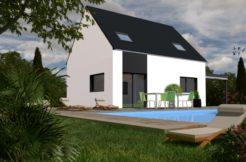 Maison+Terrain de 6 pièces avec 4 chambres à Saint Germain du Pinel 35370 – 158089 €