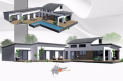 Maison+Terrain de 5 pièces avec 4 chambres à Pleurtuit 35730 – 402876 €