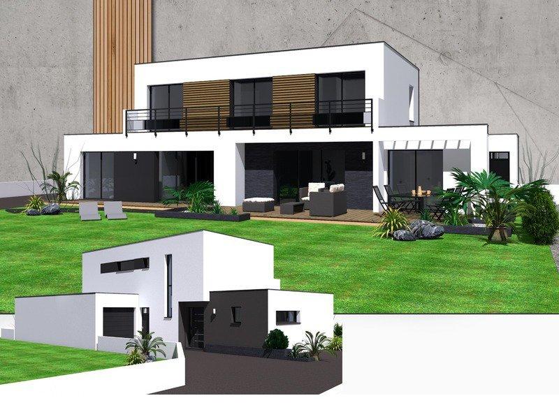 Maison+Terrain de 6 pièces avec 5 chambres à Pleurtuit 35730 – 427210 €