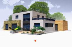 Maison+Terrain de 5 pièces avec 3 chambres à Pleurtuit 35730 – 414853 €