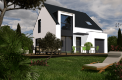 Maison+Terrain de 5 pièces avec 3 chambres à Saint Molf 44350 – 179000 €