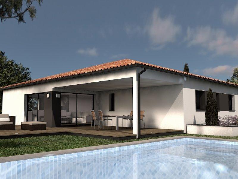 Maison+Terrain de 4 pièces avec 3 chambres à Lacroix Falgarde 31120 – 416362 € - OSE-19-08-15-15