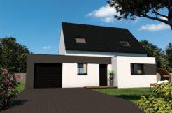 Maison+Terrain de 5 pièces avec 4 chambres à Lanmeur 29620 – 179000 €