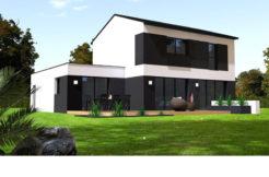 Maison+Terrain de 6 pièces avec 4 chambres à Andouillé Neuville 35250 – 228848 € - BBA-19-08-27-166
