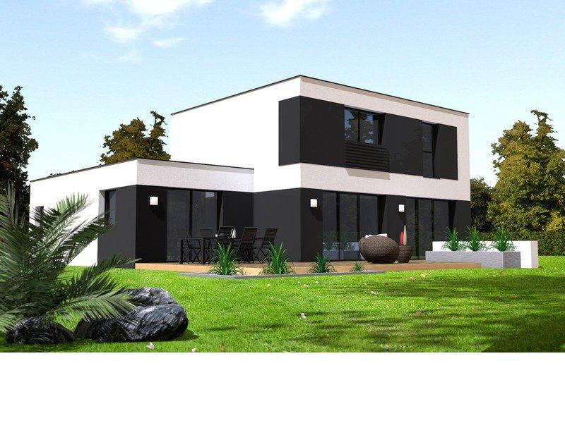 Maison+Terrain de 7 pièces avec 4 chambres à   – 317094 € - PQU-19-11-19-67