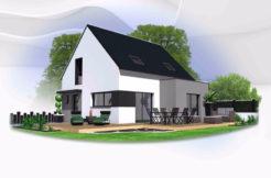 Maison+Terrain de 6 pièces avec 4 chambres à Rospez 22300 – 148610 €
