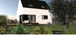 Maison+Terrain de 6 pièces avec 4 chambres à Saint Thégonnec 29410 – 129350 €