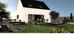 Maison+Terrain de 5 pièces avec 3 chambres à Saint Thégonnec 29410 – 131350 €