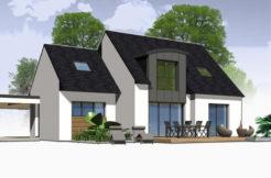 Maison+Terrain de 6 pièces avec 4 chambres à Trébeurden 22560 – 217685 €