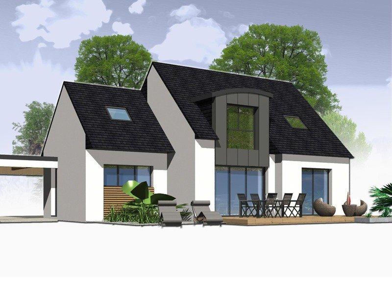 Maison+Terrain de 6 pièces avec 4 chambres à Tonquédec 22140 – 192260 €