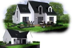 Maison+Terrain de 6 pièces avec 4 chambres à Perros Guirec 22700 – 263172 € - SDEN-18-03-15-26