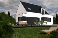 Maison+Terrain de 6 pièces avec 4 chambres à Rospez 22300 – 186630 €