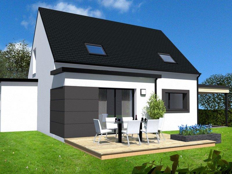 Maison+Terrain de 6 pièces avec 4 chambres à Trébeurden 22560 – 185000 €