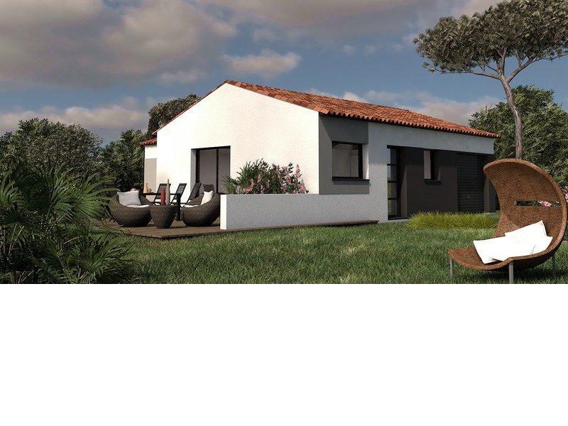 Maison+Terrain de 4 pièces avec 3 chambres à Médis 17600 – 192250 €