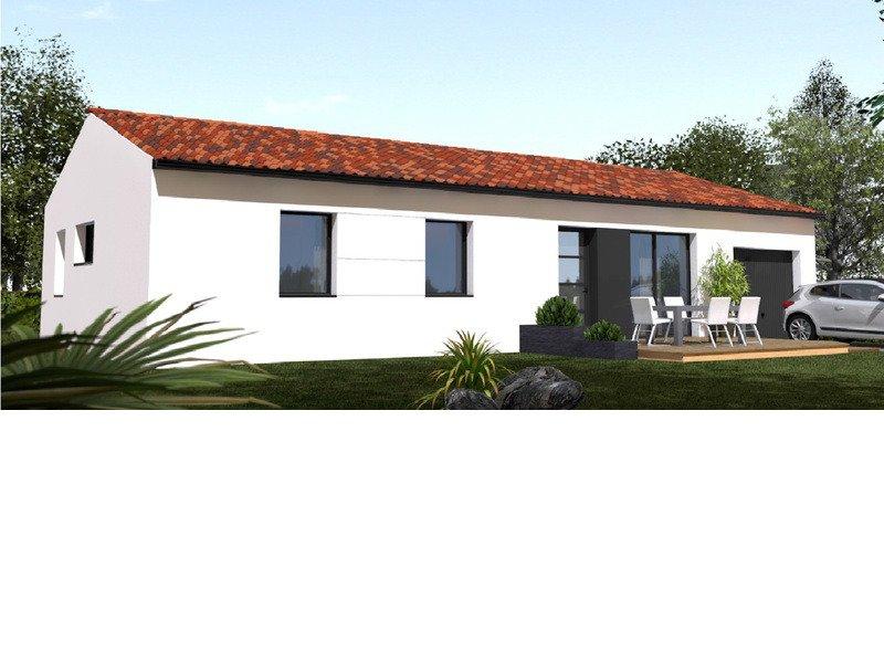 Maison+Terrain de 5 pièces avec 4 chambres à Fontenet 17400 – 151900 €