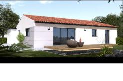 Maison+Terrain de 4 pièces avec 3 chambres à Fontenet 17400 – 127400 €