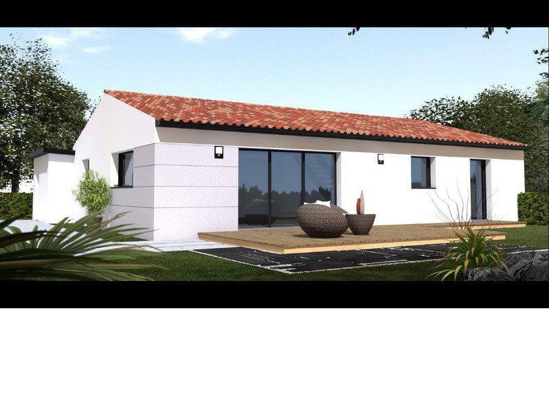 Maison de 92m2 avec 4 pièces dont 3 chambres - M-MR-170804-5025