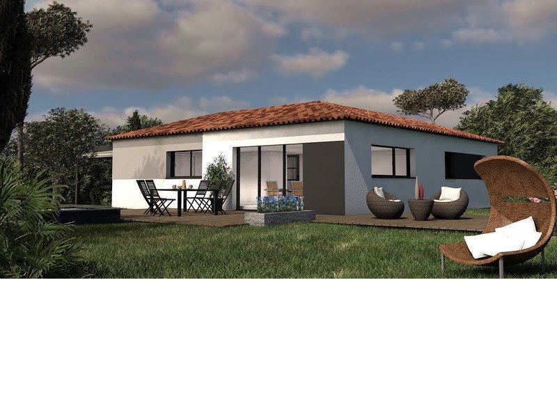 Maison de 95m2 avec 5 pièces dont 4 chambres - M-MR-170804-5026