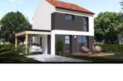 Maison+Terrain de 4 pièces avec 3 chambres à Corme Royal 17600 – 157245 €